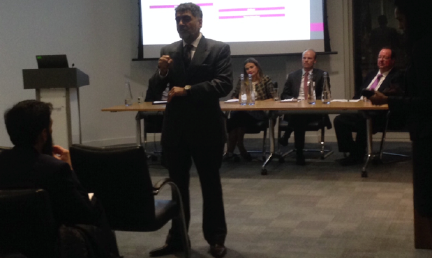 James Caan at the IOR event helping recruiters to grow their businesses.