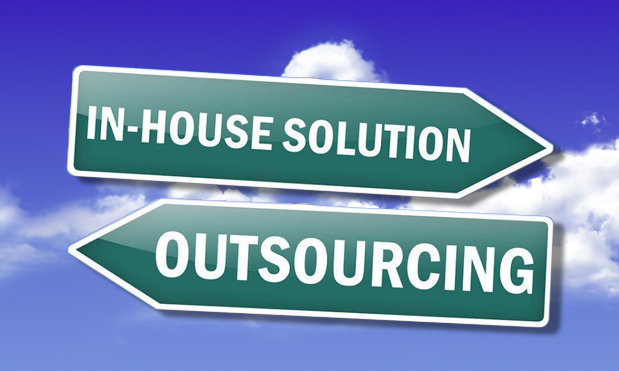 The debate continues. In house or outsource?