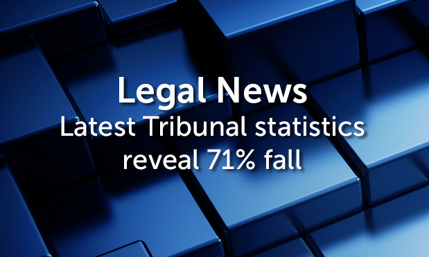 Her Majesty's Courts & Tribunals Service recorded 74,400 receipts in the period - 71% lower than the same period of 2013.