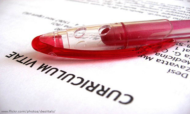 Three quarters of employers have spotted lies on a CV.
