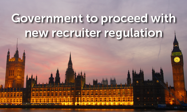 Government to proceed with new recruiter regulation