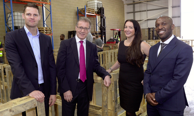 The launch of the new training and recruitment, which was opened by Rugby MP Mark Pawsey, represents a £60,000 investment.