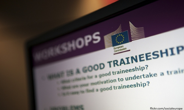 More than 10,000 young people have already started a traineeship with firms like BT and Barclays