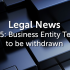 IR35: Business Entity Tests to be withdrawn