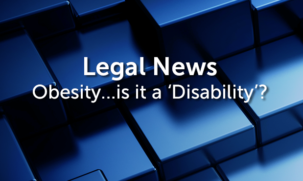 'Severe obesity' could be a disability for the purposes of the Equality Act 2010