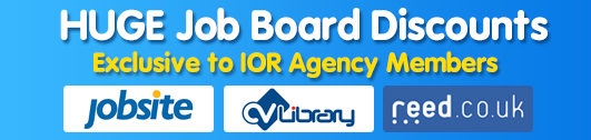 IOR job board deals, reed, jobsite , cvlibrary
