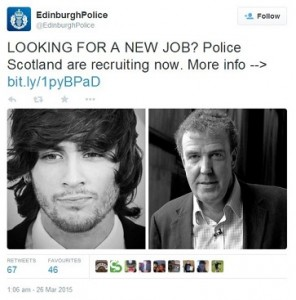 Edinburgh Police Tweet