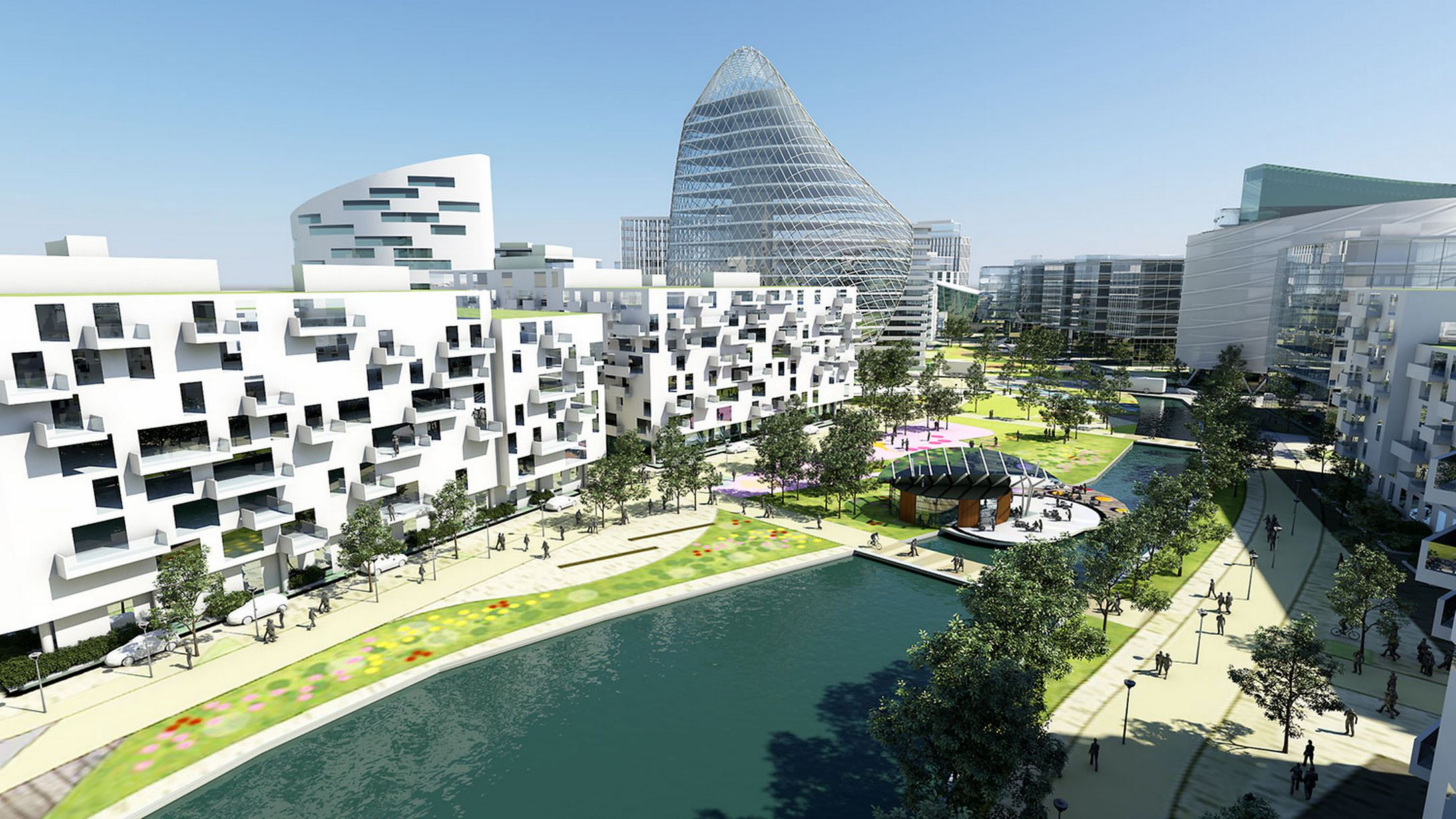 Trafford Waterfront plans revealed
