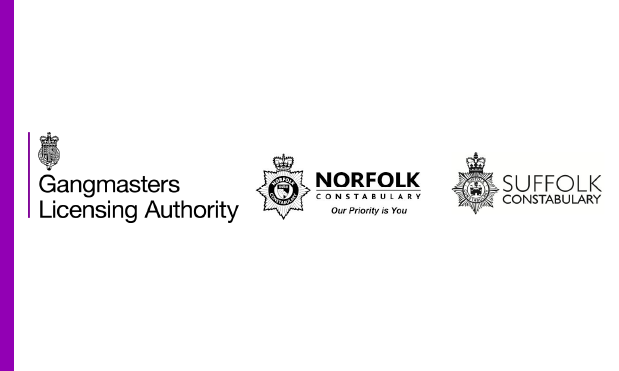 A warrant was executed in Great Yarmouth which resulted in a number of arrests. All the individuals were from the local area and involved in vegetable and meat processing.