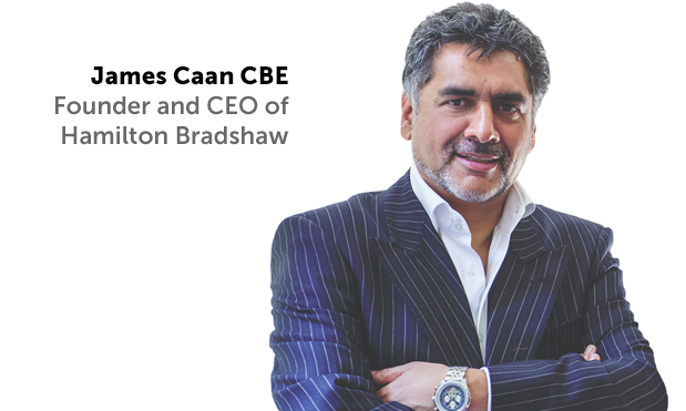 James Caan CBE is one of the UK's most successful entrepreneurs.