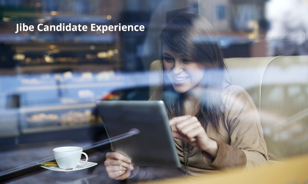 On career sites that run on Jibe, mobile candidates experience a more intuitive process that is similar to the experiences they have now on sites they use every day.