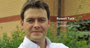 Russell Tuck, director of Midland-based recruitment specialist, Consilium Group