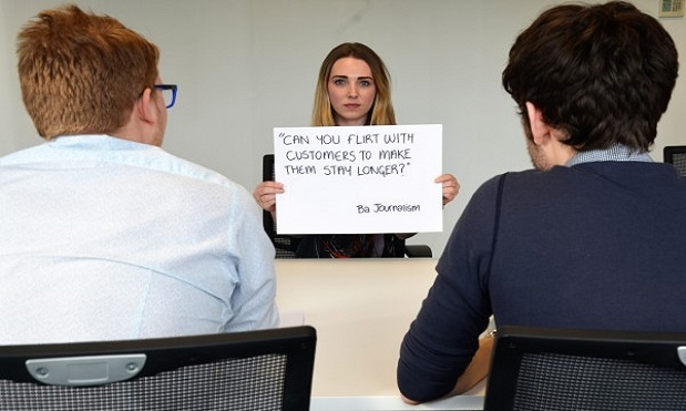 graduates being asked illegal questions at interviews
