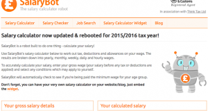 SalaryBot.co.uk has launched SalaryBot Jobs, the first major job search platform in the UK that advertises take home pay