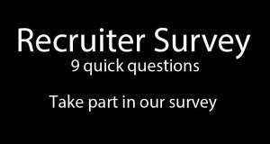 Take the IOR Recruiter Survey