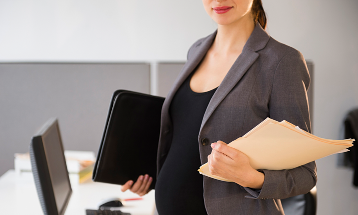 Two thirds of mothers (66%) felt their employer supported them willingly during pregnancy and when they returned to work
