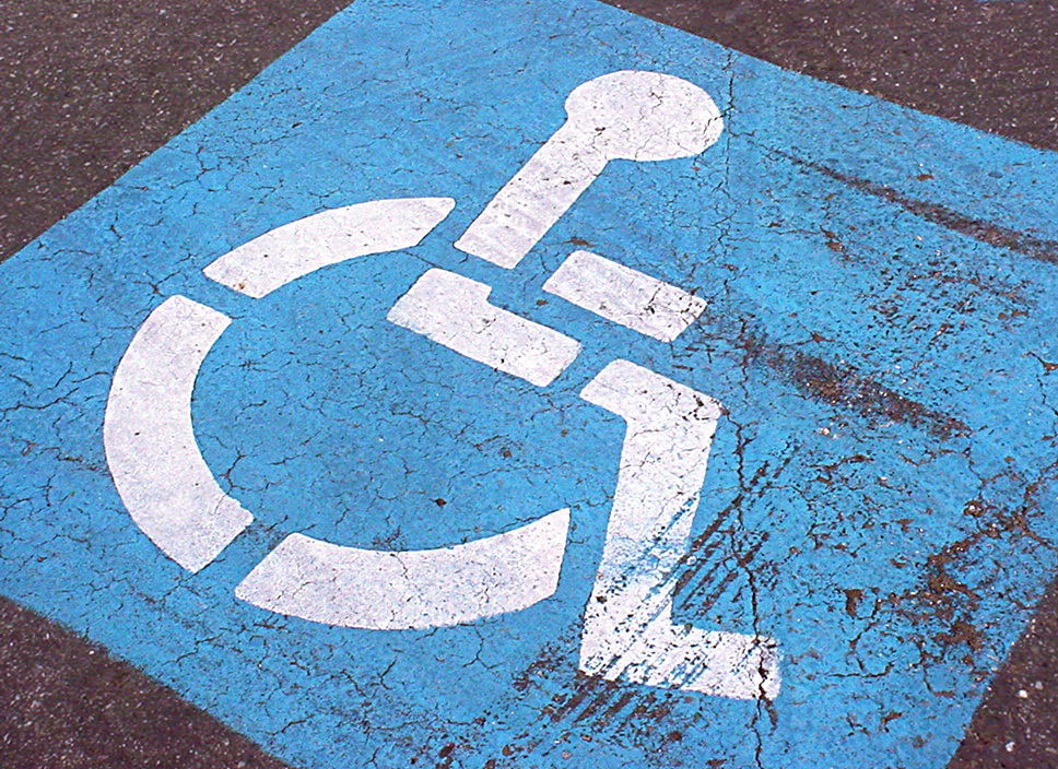 The number of disabled people working has risen by 350,000 over the past two years - the highest on record.