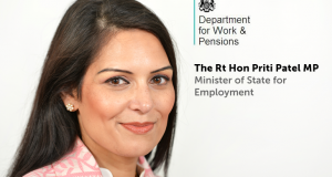 Priti Patel is Britain's Minister of State for Employment