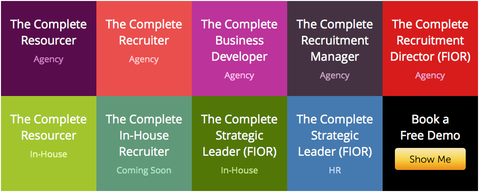 Here's the COMPLETE set of Accredited Recruitment & HR courses.