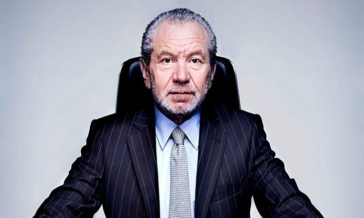 Lord Sugar blasts appointment of new Apprentice USA host