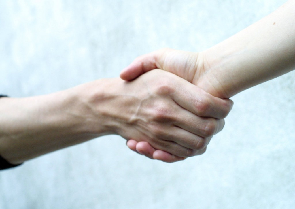 A good handshake is a base expectation; we expect it, and like great hygiene, goes totally unnoticed