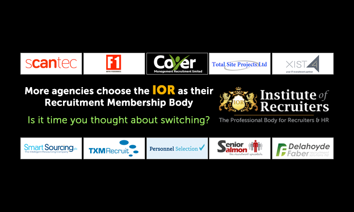 At just £595 IOR membership is proving attractive to more and more agencies