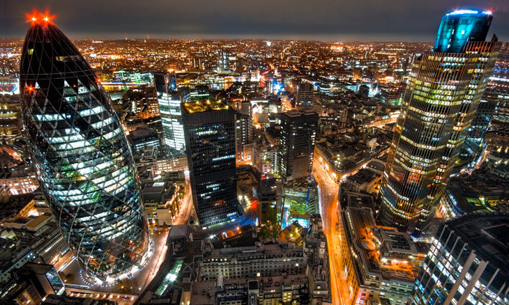 London has been voted the most desirable city in the world to work in, according to a new survey of more than 200,000 people from 189 countries