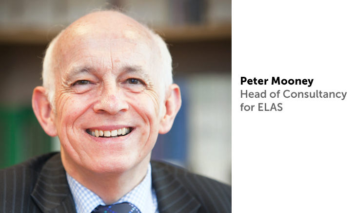 Peter Mooney, head of consultancy at ELAS Business Support