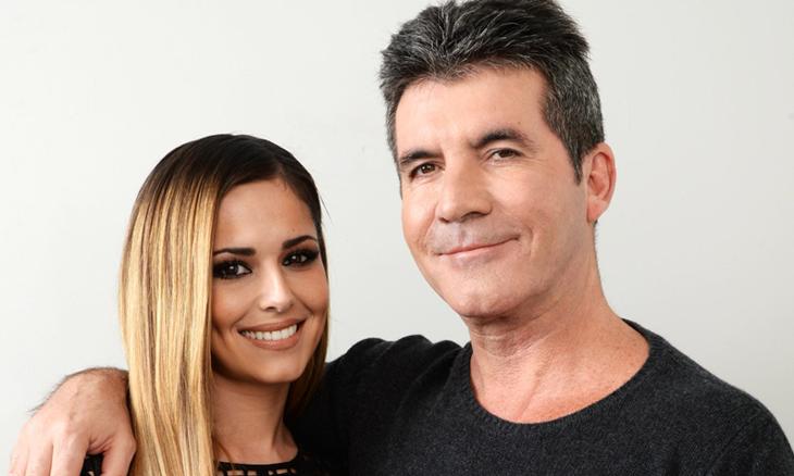 Simon Cowell with Cheryl Fernandez-Versini