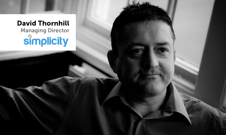 David Thornhill of Simplicity image