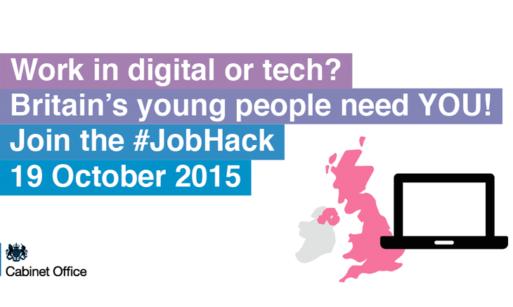On 19 October 2015, the Cabinet Office will host the UK's first ever Job Hack at the Digital Catapult in London