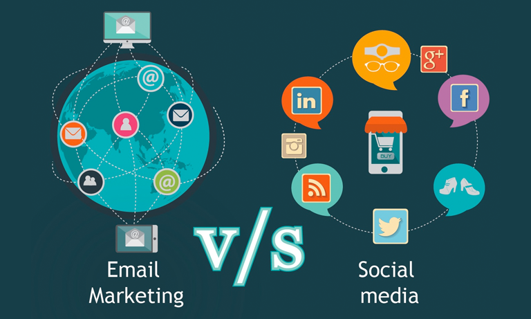 There are 3 times more active email users, as opposed to people using social media