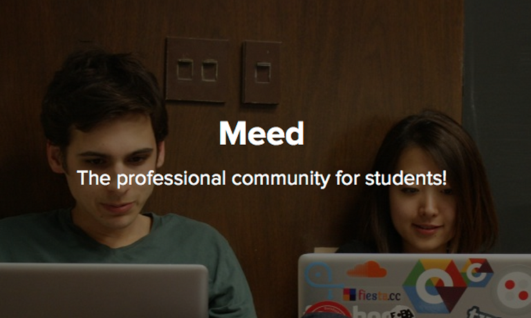 Meed is an online platform that connects university students with recruiters while creating a community that enables students to build their professional identity