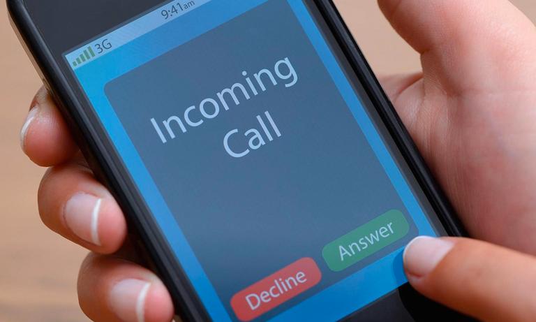 incoming call image