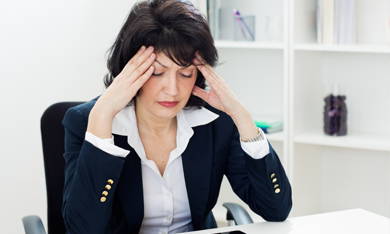 The menopause typically occurs in women aged between 45 and 55 and is brought on by a reduction in oestrogen levels