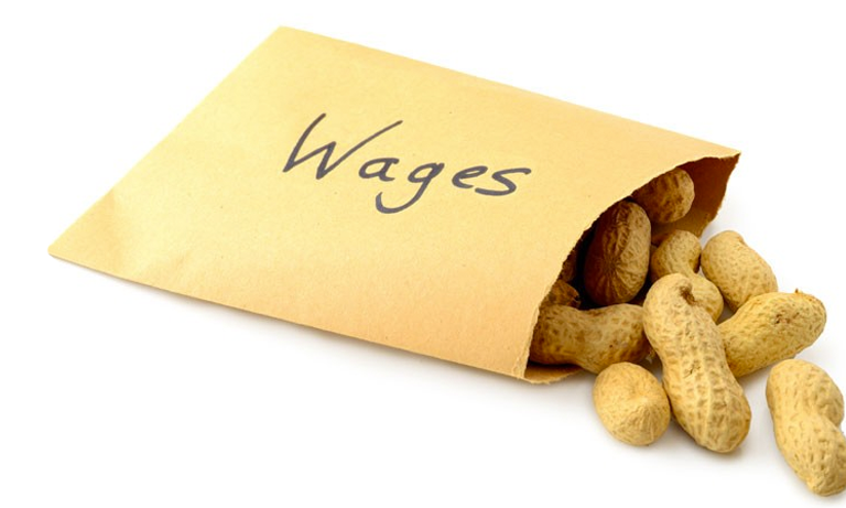 Research from the Trades Union Congress (TUC) shows that one in five employees are earning less than the living wage