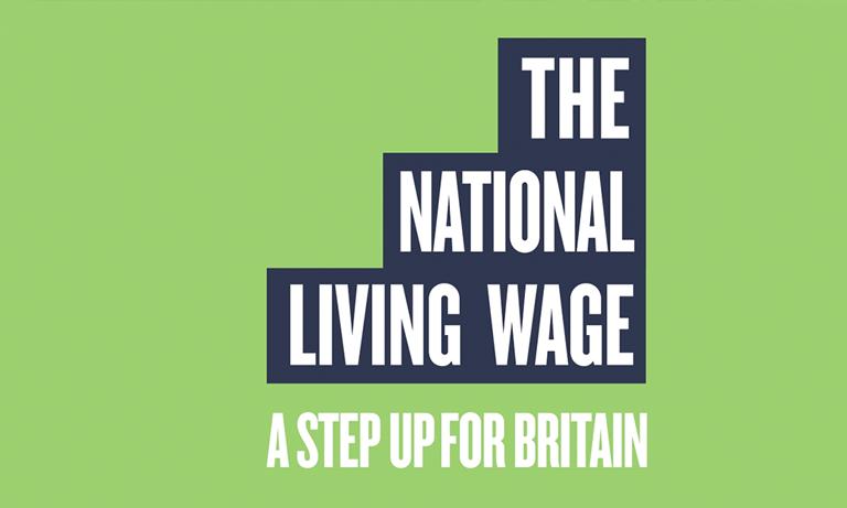 living wage logo image