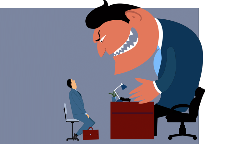According to research as many as 4% of leaders show psychopathic behaviours