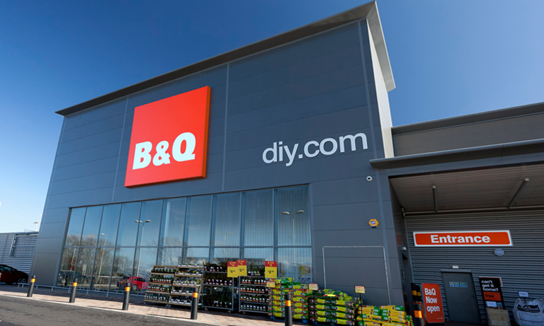 The advert had been placed on B&Q's behalf by Wincanton, a publicly-quoted warehouse and supply chain operator