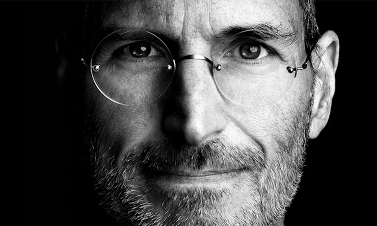 Jobs told his staff that the world is changed for the better by the persistence and enthusiasm of people who have passion