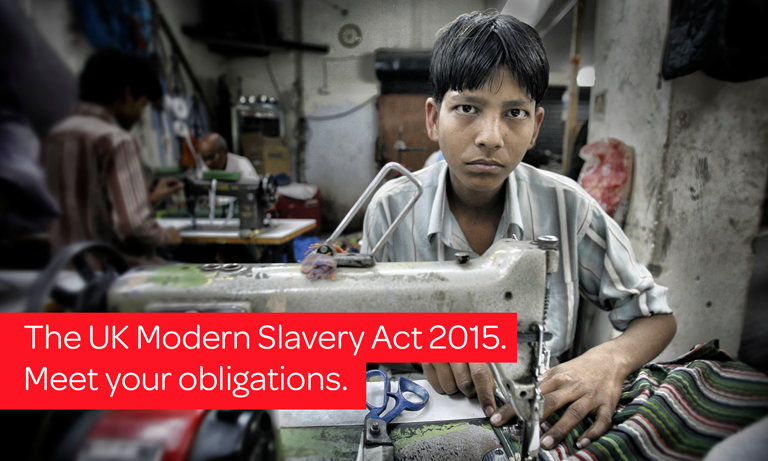 Under section 54 of the Modern Slavery Act 2015, companies must show what they have done to make sure that slavery or human trafficking does not take place in their business or in any companies in their supply chain