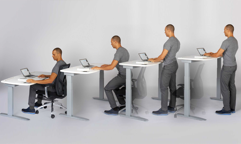 In a survey by Get Britain Standing and the British Heart Foundation, 80 per cent of the respondents said they feared that they spend too long at their desks