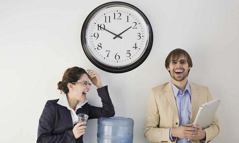 A staggering 31% of those questioned admitted to wasting at least half an hour a day on non-work related tasks, with the same figure clocking up an hour of procrastination and idleness