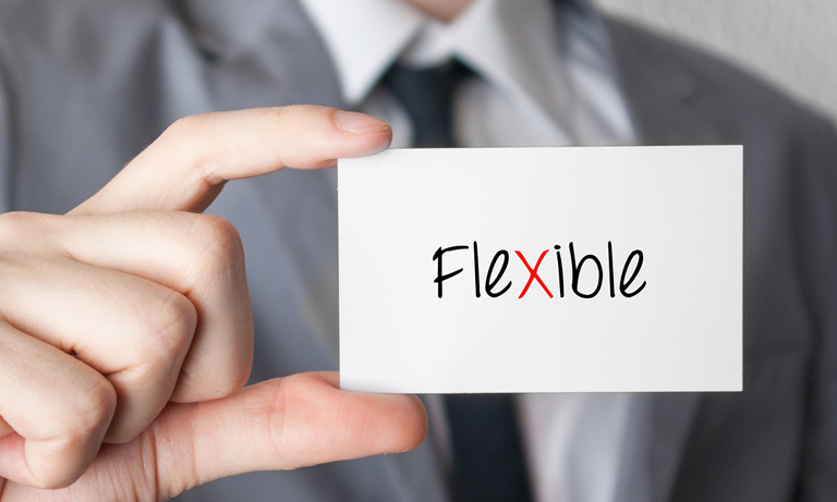 Flexible working has historically meant working from home - perhaps one day out of five