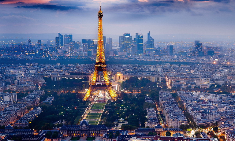 It's our nearest European neighbours France, which has the top two cities on the list