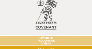 Armed-Forces-covenant gold awards