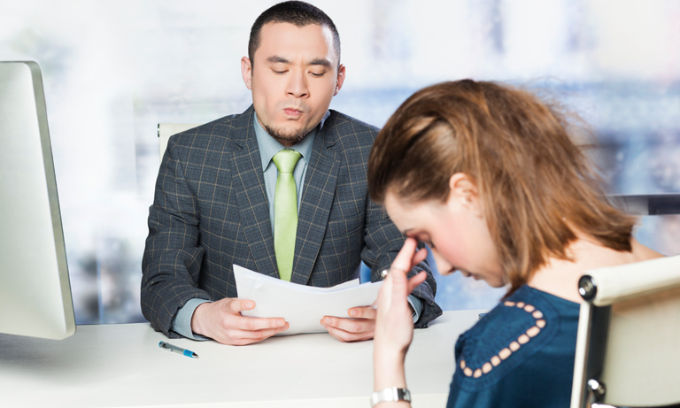 women suck at interviews and fear rejection