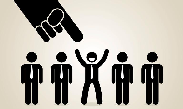 Role reversal in recruitment