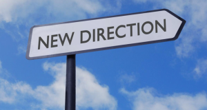 New Direction Signboard