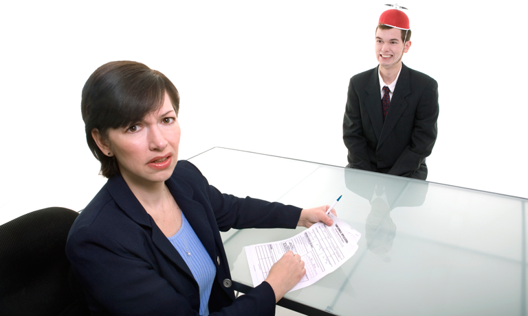 strange-behaviour-in-job-interviews